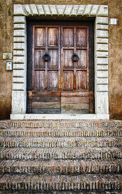 Door Photograph - The Door At Number 5 by Joan Carroll