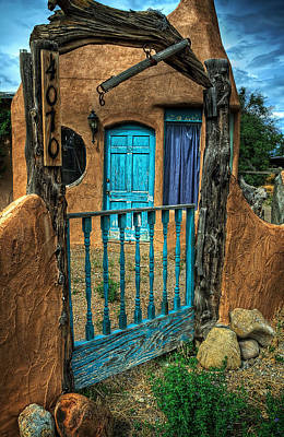 Photograph - The Door Behind The Gate by Ken Smith