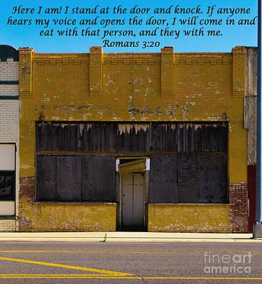 Photograph - The Door by Derry Murphy