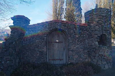 Other World Photograph - The Door In by Jeff Swan