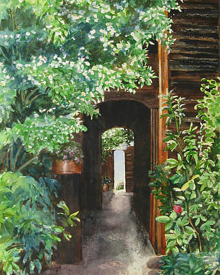 The Door Into Summer Original by Joan Senkowicz