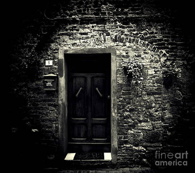 Photograph - The Door by Karen Lewis