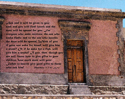 Painting - The Door by Kirt Tisdale