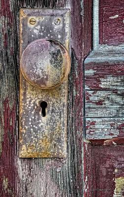 Photograph - The Door Knob by Ken Smith