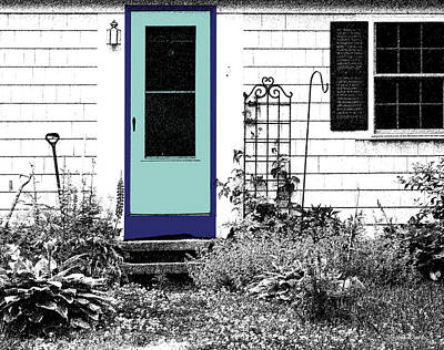 The Door Art Print by Michelle Wiarda
