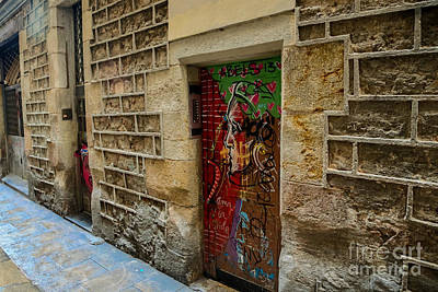 Photograph - The Door And The Wonderful Wall by Rene Triay Photography