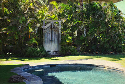 Photograph - The Door To Paradise by Paulette B Wright