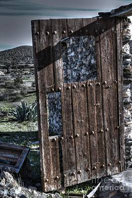 Taberna Photograph - The Door With No Lock To Lock by Heiko Koehrer-Wagner