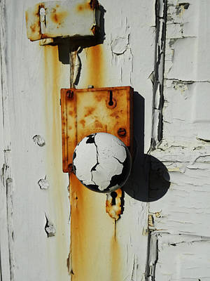 Photograph - The Doorknob by Jacqueline  DiAnne Wasson