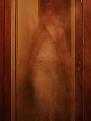 Self Portrait Photograph - Space And Time by Ingrid Van Amsterdam