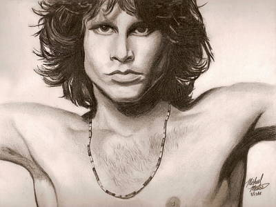 Drawing - The Doors by Michael Mestas