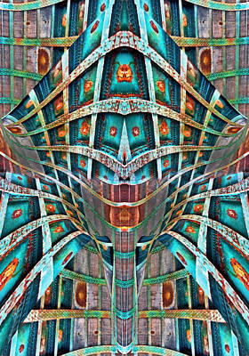 Digital Art - The Doors Of Perception by Menega Sabidussi