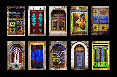 The Doors Of Yemen Art Print