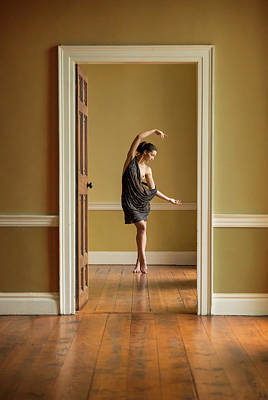 Mansion Photograph - The Doorway by Ross Oscar