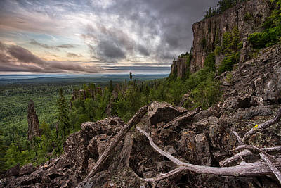 Gichigami Photograph - the Dorion Pinnacles by Jakub Sisak