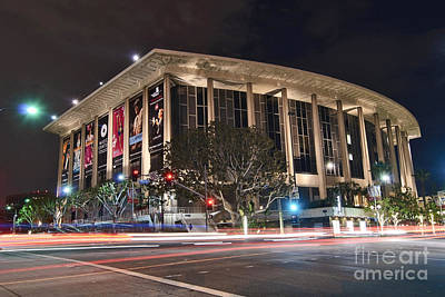 The Dorothy Chandler Pavilion Part Of The Los Angeles Music Center Art Print by Jamie Pham