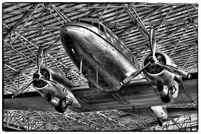 Seattle Photograph - The Douglas Dc-3 Airplane II by David Patterson