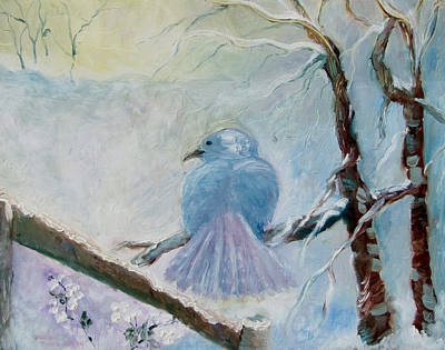 The Dove Art Print by Susan Hanlon