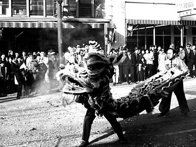 Photograph - The Dragon Dance by Robert  Rodvik