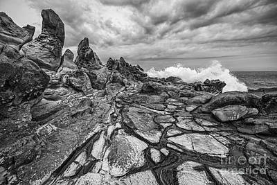 Ledge Photograph - The Dragons Teeth by Jamie Pham