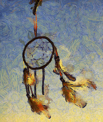 The Dream Catcher Art Print by Shannon Story