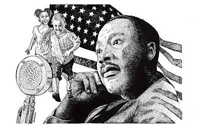 The Dream Speech Art Print