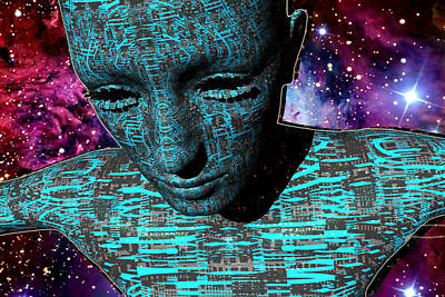 Digital Art - The Dreamer by A Dx