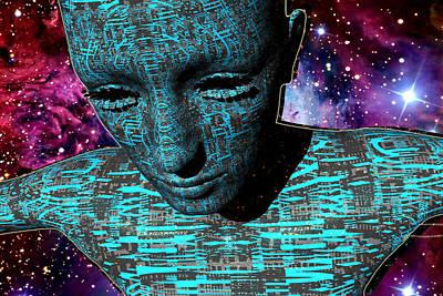 Digital Art - The Dreamer by A Dx