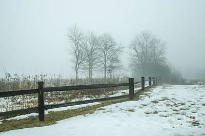 Photograph - The Dregs Of Winter by Deborah Smolinske