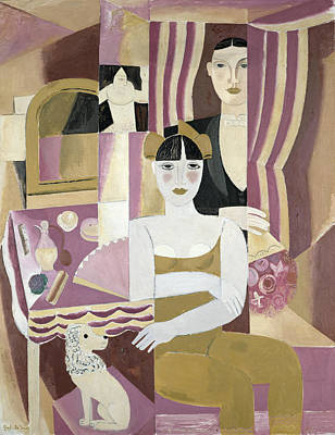 Mirror Painting - The Dressing Room by Gustave de Smet