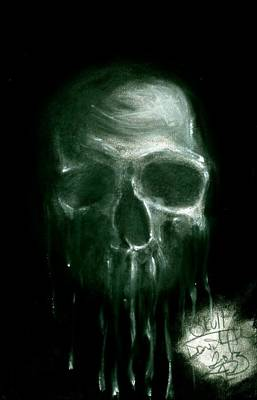 Dead Heads Drawing - The Dripper by Daniel Allen