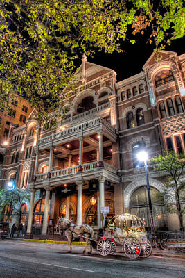 Austin Photograph - The Driskill Hotel by Tim Stanley
