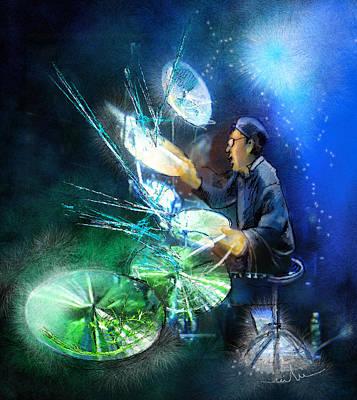 The Drummer 01 Art Print