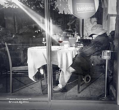 Photograph - The Drunk Homeless  by Stwayne Keubrick