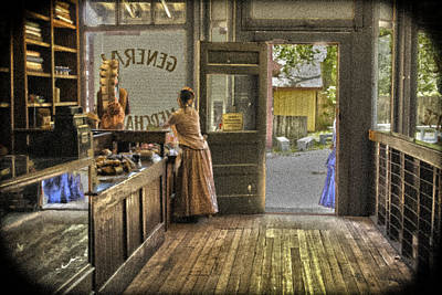 The Dry Goods Store Art Print