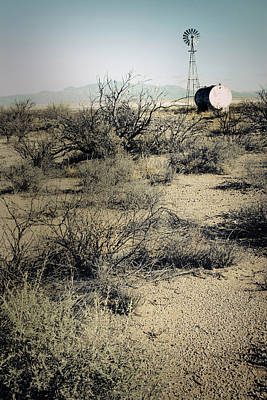 Photograph - The Dry Lands Of Arizona by Christopher Rees