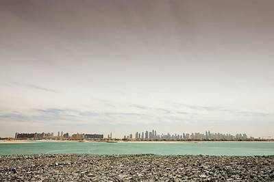 The Dubai Skyline Print by Ashley Cooper