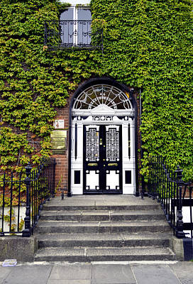 Photograph - The Dublin Door by Richard Ortolano