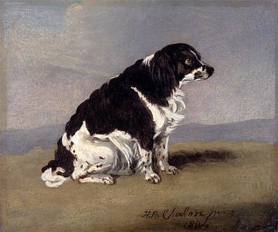 Duchess Painting - The Duchess Of Yorks Spaniel Signed And Dated by Litz Collection