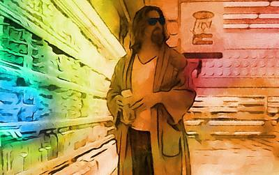 Lebowski Painting - The Dude by Dan Sproul