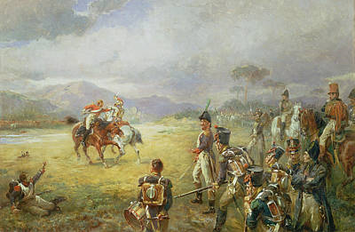Honour Painting - The Duel  Fair Play by Robert Alexander Hillingford