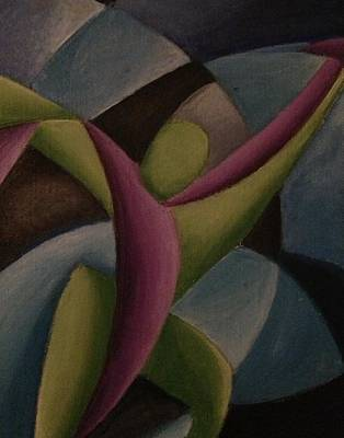 Painting - The Duet by D August