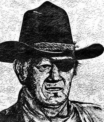 Rooster Cogburn Photograph - The Duke  by Juls Adams
