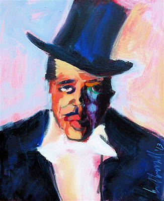 Painting - The Duke by Les Leffingwell