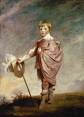 Crt Wall Art - Photograph - The Duke Of Gloucester As A Boy by Sir Joshua Reynolds