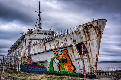 Ferry Digital Art - The Duke Of Lancaster by Adrian Evans