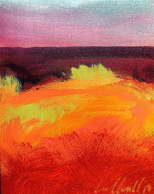 Painting - The Dune by Les Leffingwell