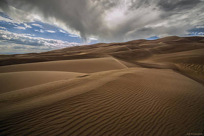 Photograph - The Dunes by Jeff Niederstadt