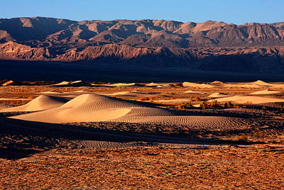 The Dunes Of Death Valley Art Print