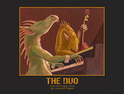The Duo Art Print